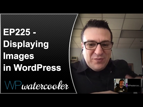 EP225 - Displaying Images in WordPress - WPwatercooler