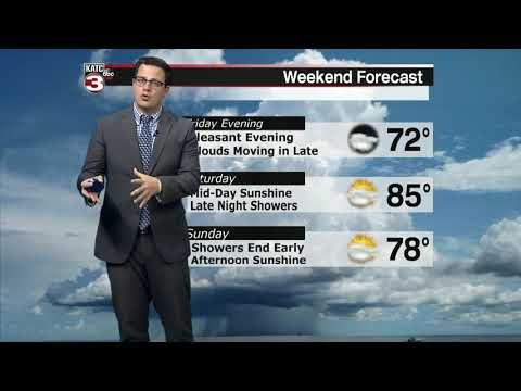 Daniel's weather forecast part 1 03-27-20 10pm