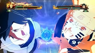 Naruto Shippuden: Ultimate Ninja Storm Revolution - Naruto & Sasuke VS Obito & Madara