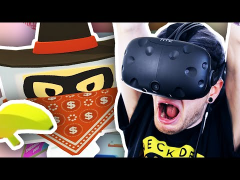 Thumbnail: I GET ROBBED IN VR!! | Job Simulator