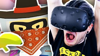 I GET ROBBED IN VR!! | Job Simulato...