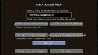 Tutorial : cómo saber tu seed (lugar donde apareciste) Minecraft