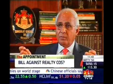 "CNBC-TV18 Calls KP the ""Father Of Indian Real Estate Business in India"""