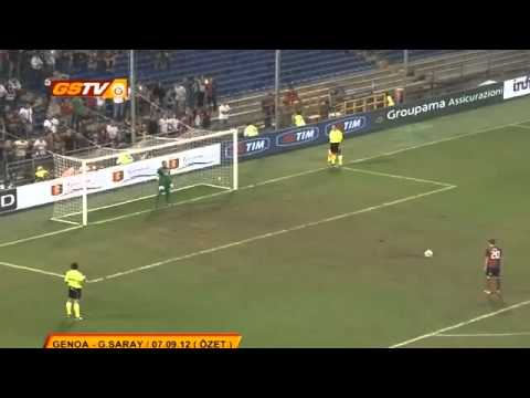Stefan Simic, penalty kick, Genoa - Galatasaray 7:6