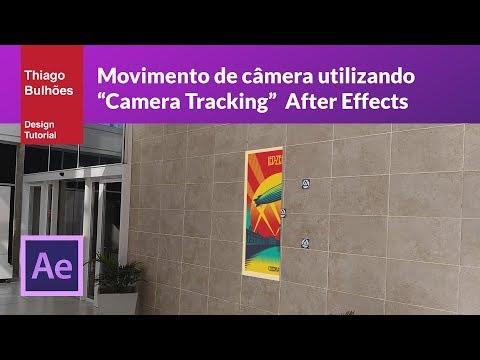 """Tutorial movimento de câmera usando """"Camera tracking"""" After Effects"""