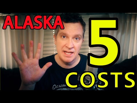 "🤑The ""5 COSTS"" of an ALASKA RV Trip💰💰💰"