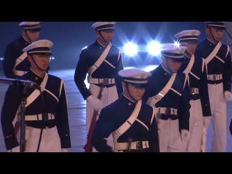 防衛大学校儀仗隊「ファンシードリル」(平成29年度自衛隊音楽まつり)