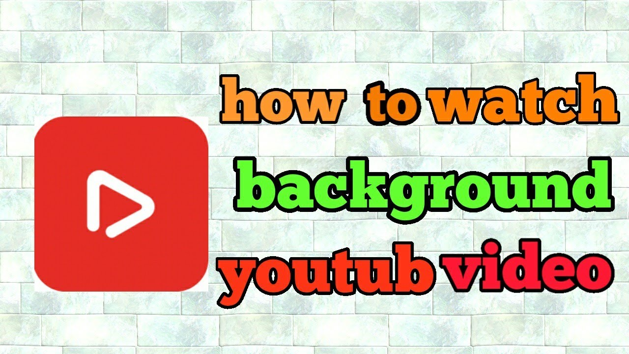 How to watch background Youtube videos in telugu