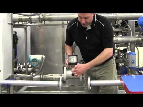 SITRANS F M MAG 8000 (Water) Flowmeter Installation