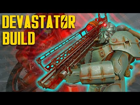 Fallout 4 Builds - The Devastator - Demolition Expert Build