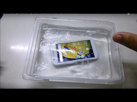 Moto e 2nd generation 4g water test,bend test,brutal scratch test !