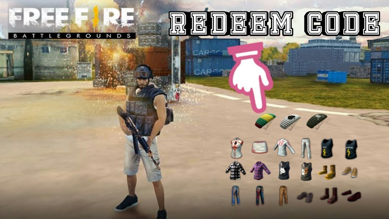 REDEEM CODE FREE FIRE 2019 WORK!!! - YouTube
