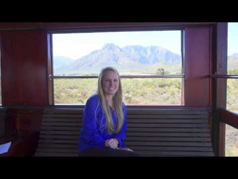 iFly TV: Kelly Wijnhoven from Groesbeek, Holland wins the world's most luxurious traintrip in Africa
