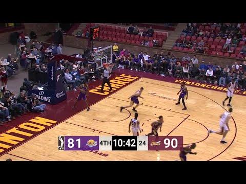 Ante Zizic Posts 23 points & 13 rebounds vs. South Bay Lakers
