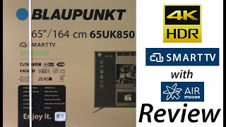 видеообзор Blaupunkt 65UK850 (Blaupunkt UK850 Series Review)
