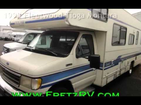 Used 1993 Fleetwood Tioga Montara for Sale Fretz RV Classified Ads Camper  Trader