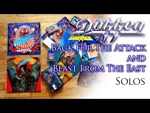 Dokken - Back For The Attack and Beast From The East Solos | From Lynch Lycks 😃