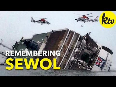 3rd Year Anniversary Of The Tragic Sinking Of The Sewol Ferry