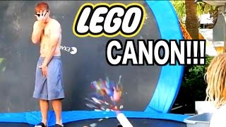 LEGO CANON CHALLENGE!!! 1000fps Super Slow Motion!