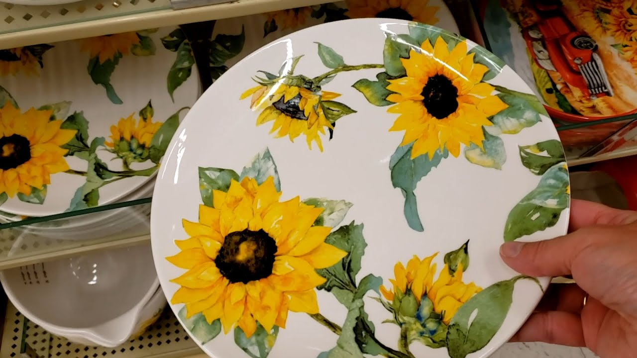 Shop With Me Hobby Lobby Fall Decor Fall Dishes Youtube