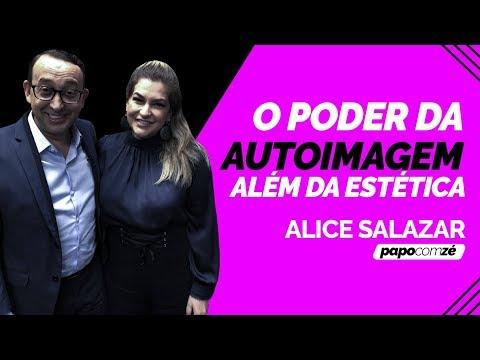 CONTEI MEU SEGREDO DE BELEZA PARA ALICE SALAZAR | PAPO COM ZÉ