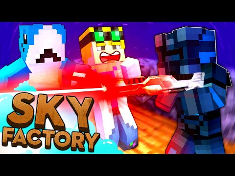 Minecraft Sky Factory - ANDROID ATTACK #7