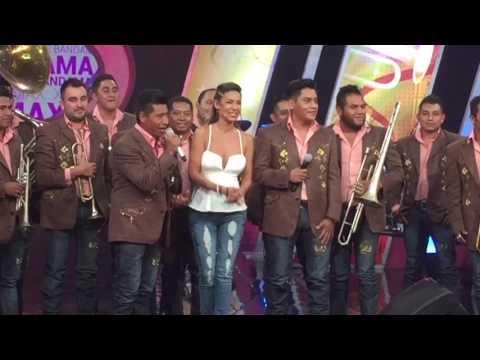 """Banda Santo Domingo La Patrona Del Sur En BANDAMAX ( En XE Bandamax Con Marilé) """"CON TODO Y CUERNOS"""