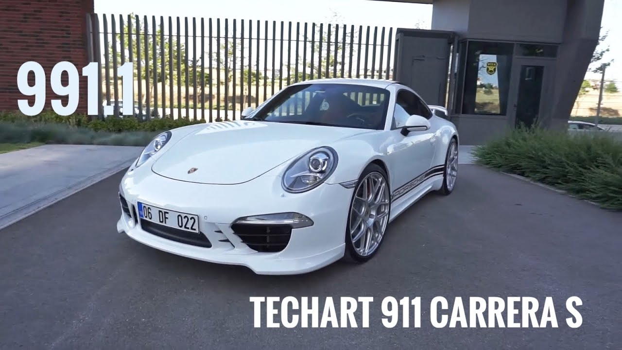 FLAT SIX Rüyası Porsche 911 Carrera S 991.1 Detaylı İnceleme değil Muhabbet |TECHART| Born in Flacht