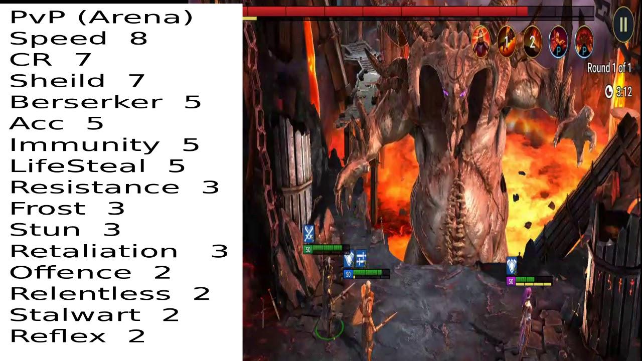 Best Artifacts Sets Raid Shadow Legends