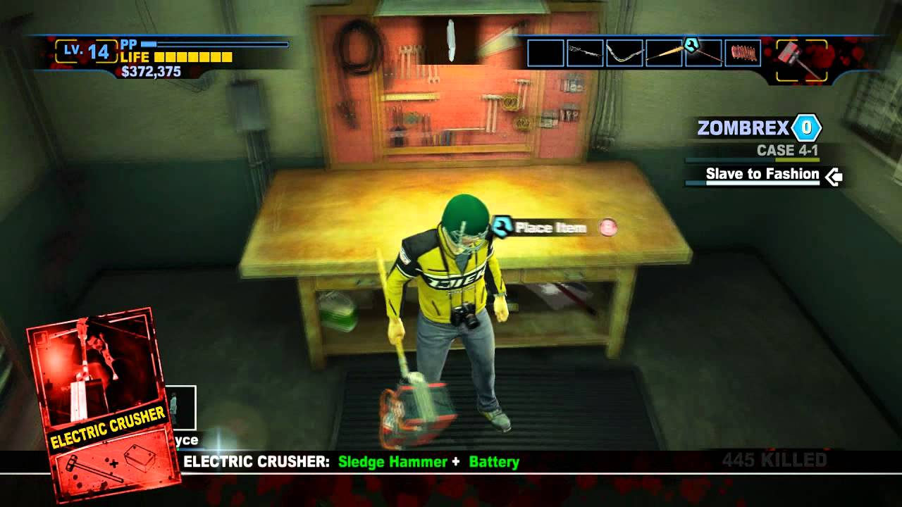 Dead Rising 2 Off The Record New Combo Weapons Decapitator And