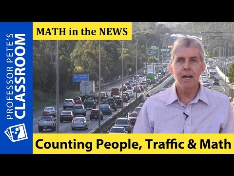 K-6 Math in the News: Census Math, Highways and Traffic