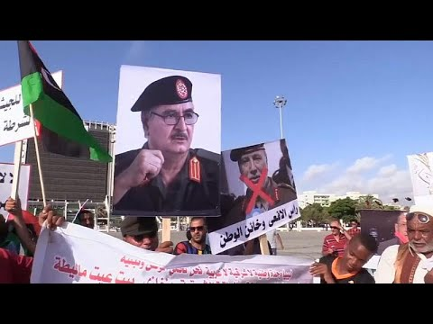مظاهرات في بنغازي داعمة لحفتر ومطالبات بوقف الدعم التركي لحكومة الوفاق الوطني …  - نشر قبل 2 ساعة