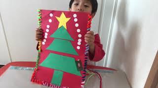 モンテッソーリー お家でお仕事 クリスマス サンタクロースのプレゼンを...