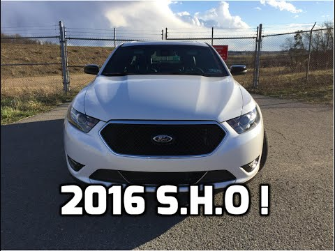 2016 Ford Taurus SHO Performance Package Review and Test Drive - 3.5L EcoBoost V6 Twin Turbo AWD