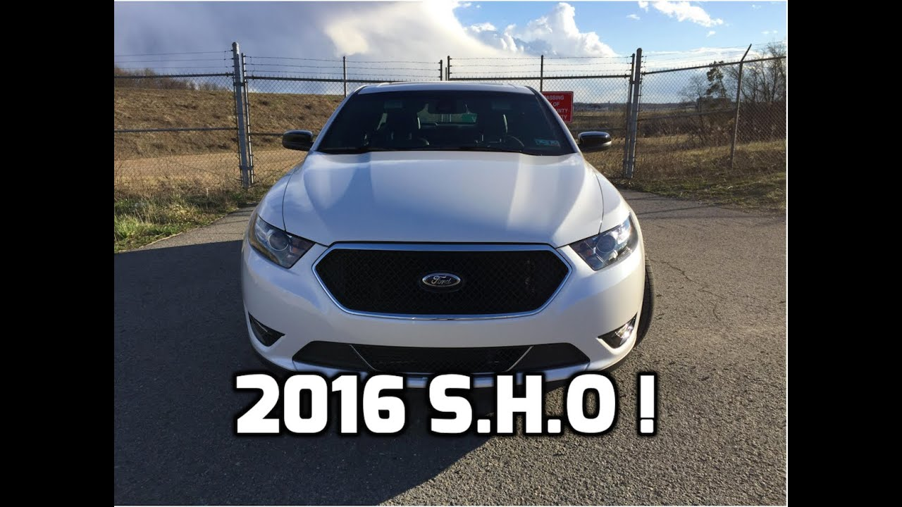 2016 Ford Taurus Sho Performance Package Review And Test Drive 3 5l Ecoboost V6 Twin Turbo Awd
