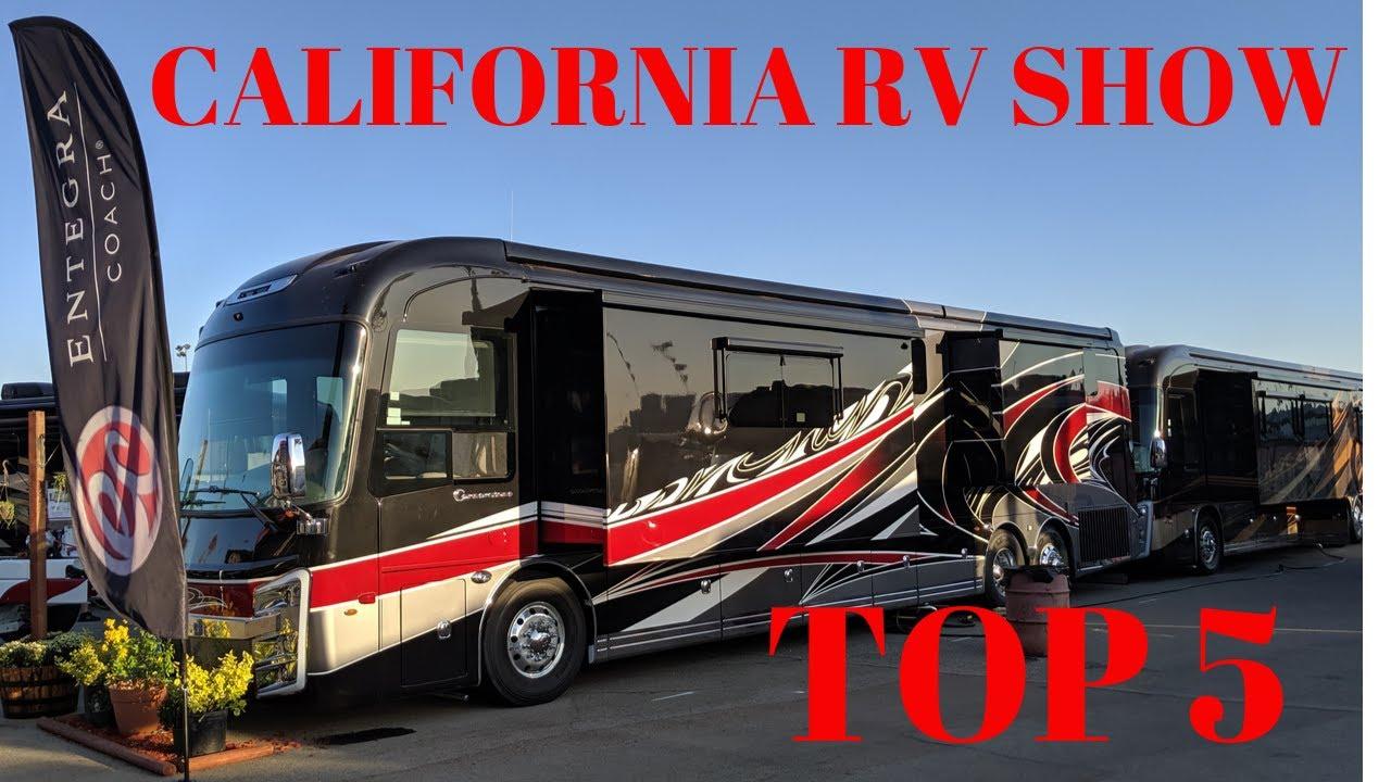 California Rv Show >> Top 5 Rvs At The California Rv Show