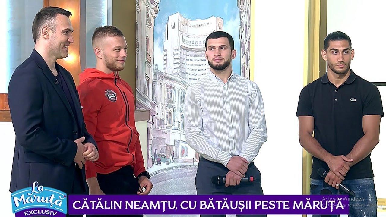 Catalin Neamtu isi sustine prietenii la kickboxing