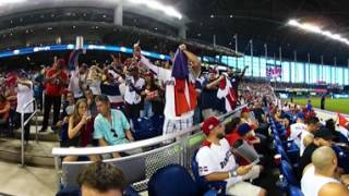 VR 360: Dominican fans cheer on team