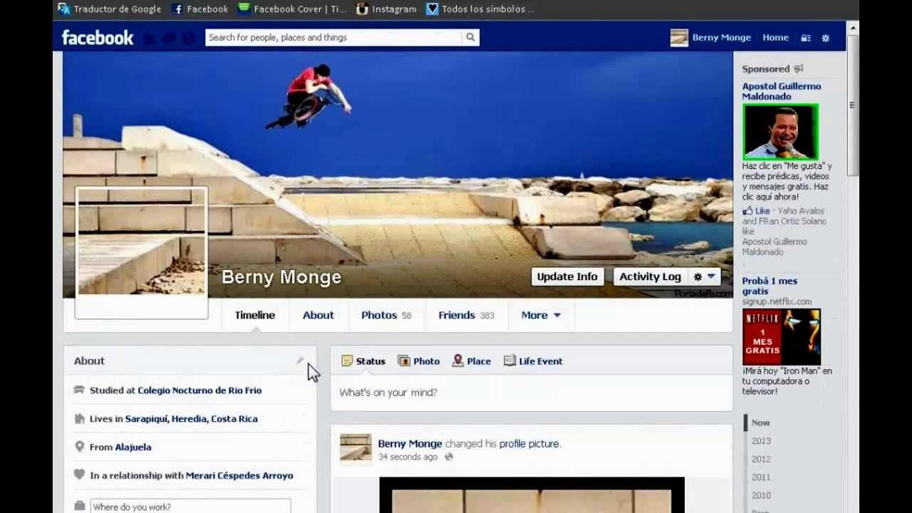 Como hacer coincidir la foto de perfil con la foto de - Cambiar foto portada facebook ...