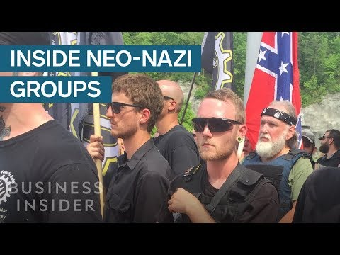 Neo-Nazis Let A Journalist In Their Group — Here's What He Saw