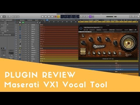 Maserati VX 1 Vocal Mixing Tool - Plugin Review