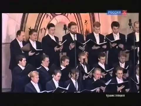 Хор Сретенского монастыря. Музыка Георгия Свиридова в Доме музыки