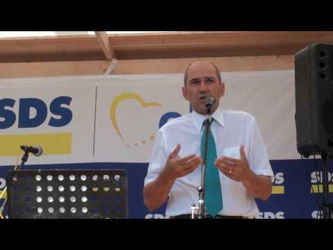 Janez Janša na srečanju Savinjsko-Saleške regije SDS, 4.9.2016