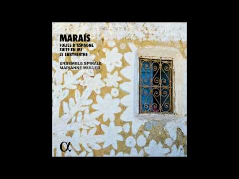 MARAIS // Suite in E Minor, Livre II De Pièces De Violes: VIII.Gigue 'La Badine' by Ensemble Spirale