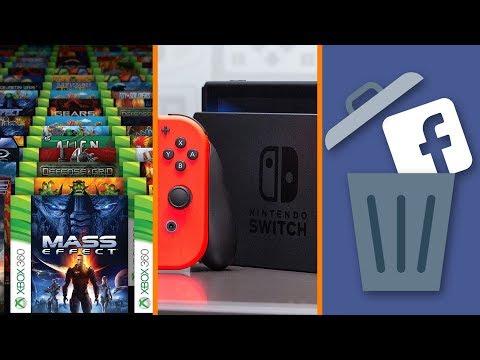Backward Compatibility Key for Xbox + Nintendo Wants New Hardware + Millions Delete Facebook