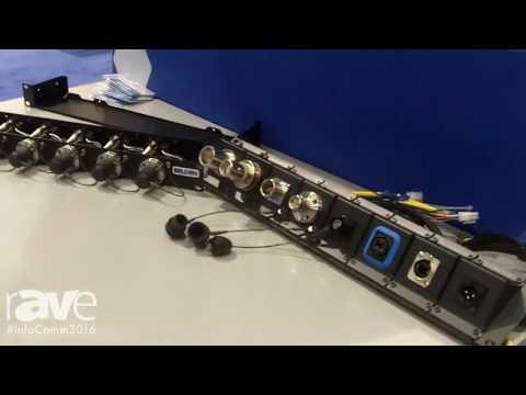 InfoComm 2016: Belden Features Its Line of Broadcast Panels
