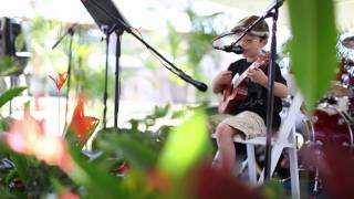 Download Hey Soul Sister Train - 8 Year Old Ukulele Cover (Canon 5DMKII) MP3 song and Music Video