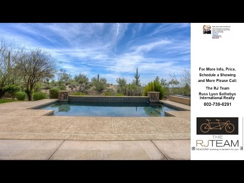 9626 E VANTAGE POINT Road, Scottsdale, AZ Presented by The RJ Team.
