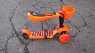 видео беговел scooter