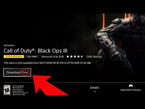 How To Download BLACK OPS 3 for FREE on PS4! (Play BO3 for FREE on PS4) - Black Ops 3 FREE Download!